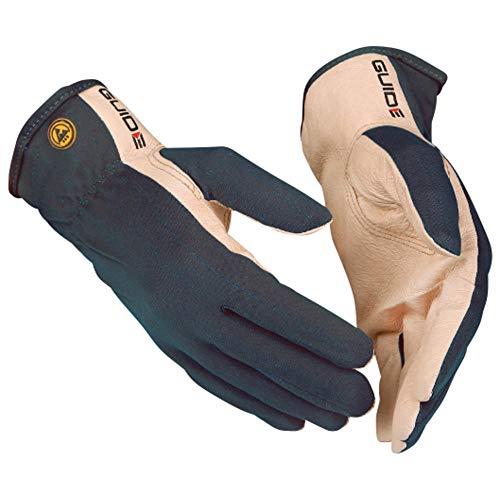 WETEC Gants de protection en cuir nappa de porc souple ESD 12