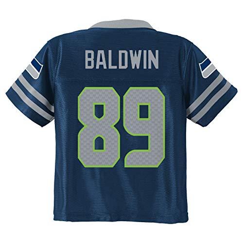 Doug Baldwin Seattle Seahawks #89 Navy Blue Youth Home Player Jersey (Medium 10/12)