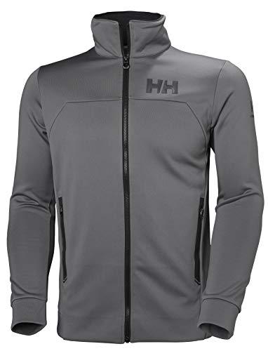 Helly Hansen HP Fleece Jacket, Tuta Sportiva Uomo, S, Grigio (Quiet Shade)