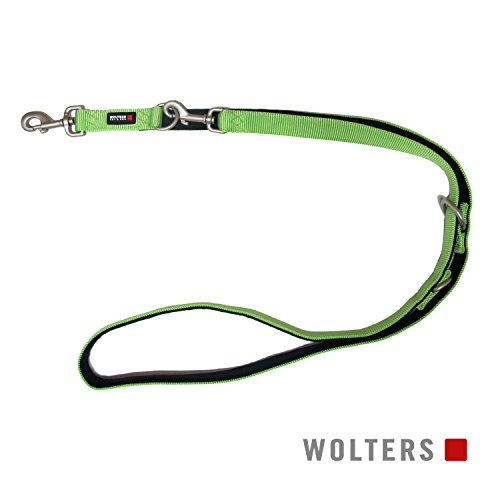 Wolters | Führleine Professional Comfort in Kiwi/Schwarz | L 200 cm x B 20 mm