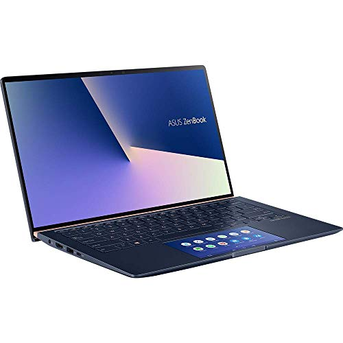 ASUS Computer ZenBook 13 UX334FA mit Screenpad 2.0 (90NB0MX1-M00410) 33,7 cm (13,3 Zoll, Full HD) Ultrabook (Intel Core i5-10210U, Intel UHD-Grafik 620, 8GB RAM, 512GB SSD, Windows 10) royal blue