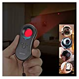 Hidden Camera Detectors,LED Hidden Device Detector with Infrared viewfinders - Pocket Sized Anti Spy Camera Finder Locates Hidden Camera,Chargeable Anti Theft Alarm in AirBnB, Hotels and Bathroom