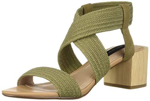 Price comparison product image STEVEN by Steve Madden Women's Release Sandal Olive Multi 7.5 M US