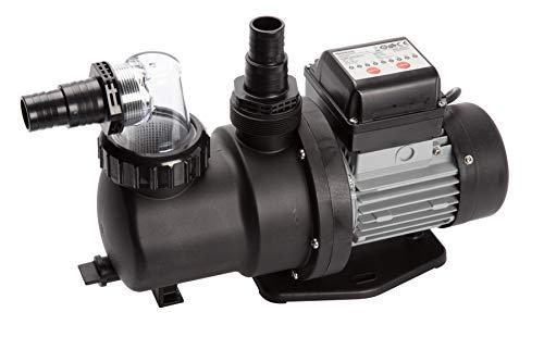 Steinbach Filterpumpe SPS 100-1T, selbstsaugend, 230 V/550 W, Q= 158 l/min, max. Pumphöhe 10 m, mit Zeitschaltuhr, 040917