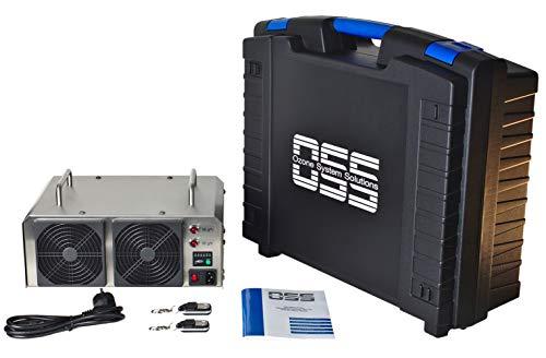 OSS Sixty O³ con cassa   Generatore di ozono con 60000 mg/h o 60 g/h di ozono in uscita   MADE IN GERMANIA   Supporto telefonico   Generatori di ozono OSS rimuovono odori, batteri e virus