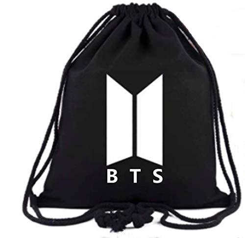 BTS Merchandise Kpop Gifts Set para Army-Draw bolsa de cuerda/máscara/llavero/stents de teléfono móvil/pegatinas/teléfono móvil colgar cuerda/pulsera
