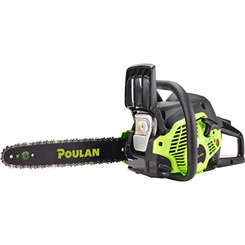 Poulan 14 inches Steel Bar 33CC Gas Chain Saw 2 Cycle , PL3314