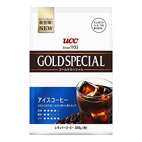 UCC ゴールドスペシャル アイスコーヒー SAP 320g×6個