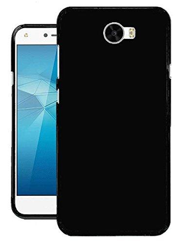 Todobarato24h Funda TPU Lisa Compatible con Huawei Y6 II Compact / Y5 II 2016 Negra