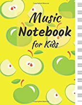 Music Notebook for Kids: Blank Sheet Music: Music Manuscript Paper / Staff Paper / Musicians Notebook (Composition Books - Music Manuscript Paper) 110 ... Songwriting, Theory, Composition and Learning