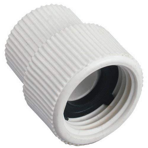 "2 Pack - Orbit 1/2"" FNPT x 3/4"" FHT PVC Swivel Hose to Pipe Adapter"