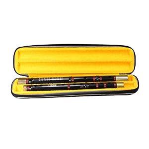 Dizi Bambusflöten Ebenholz Flöte Super Sound Performance Flöten Multi Tones Flöten Komplettes Zubehör Ebony Popular Gifts Querflöten (Color : A Minor)