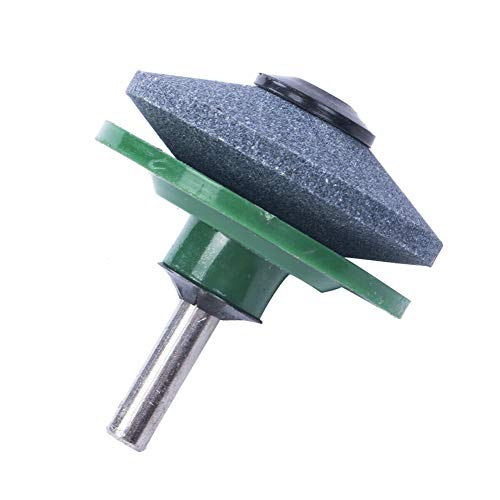 YuFanKits Universal Lawn Mower Fast Blade Sharpener Grinder Rotary Drill Gardening Tool, Fast and Effective Manual Sharpening Tool