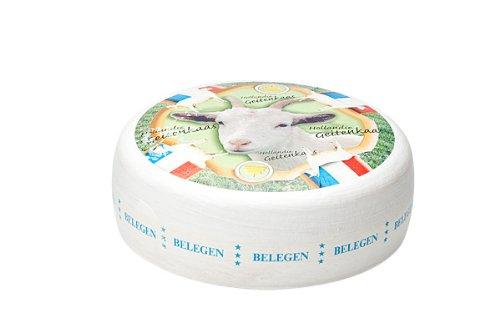 Gereifter Ziegenkäse Gouda / extragereifter | Premium Qualität | Ganzer Käse - 7,5 kilo