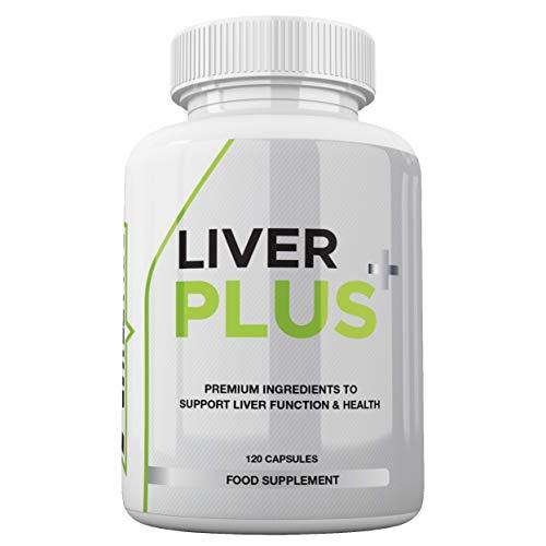 Liver Plus+ Liver Support Supplement - Liver Complex Including 15x Natural Active Ingredients - Premium Liver Support UK Made