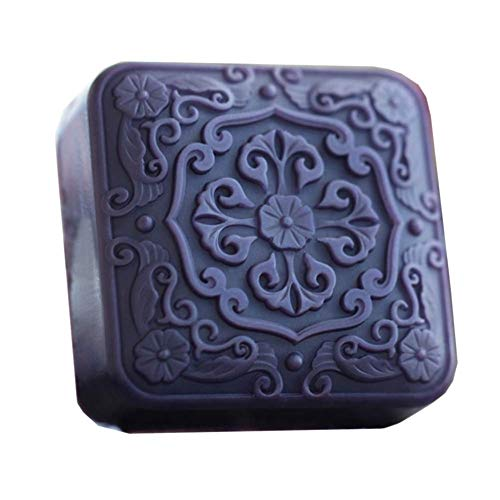 Silicone Molds Flowers, Masculine Craft Art Silicone Soap Mold, Craft Molds DIY Handmade Soap Molds - Best Handmade soap for Gifts - Soap Making Supplies by YSCEN