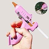 NAMYA Mini Hot Glue Gun USB Rechargeable Cordless Electric Hot Melt Glue Gun Tool