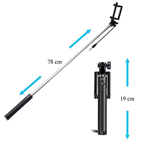 DN VERSATILE Selfie Stick (Black)