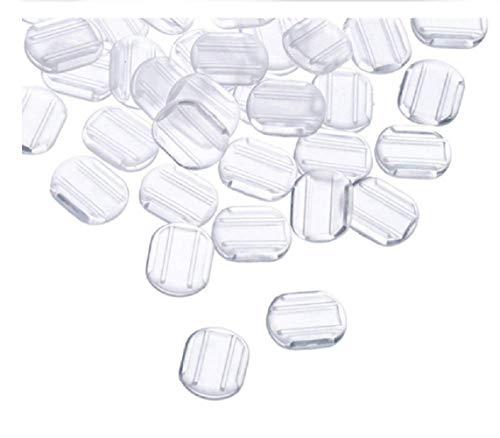 VANVENE 24 Clear Comfort Pads Earring Cushion for Clip on Earrings
