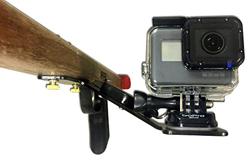 Speargun Camera Mount for GoPro with Retractable Lanyard