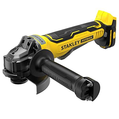 Stanley FatMax SFMCG700B-XJ Amoladora angular, 18 V, amarillo/negro