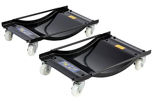 Pro-Lift-Werkzeuge Rangierhilfe PKW, Rangierwagenheber, Rangierheber, 2 Stück, Tragkraft je 450 kg