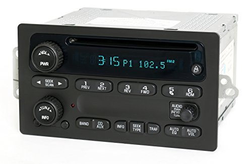 1 Factory Radio AM FM CD Player Radio Compatible With 2003-05 Chevrolet Truck 10357894