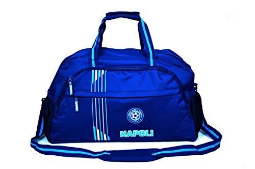 Champions Borsone SSC Napoli Borsa Calcio Palestra con Tracolla Azzurri