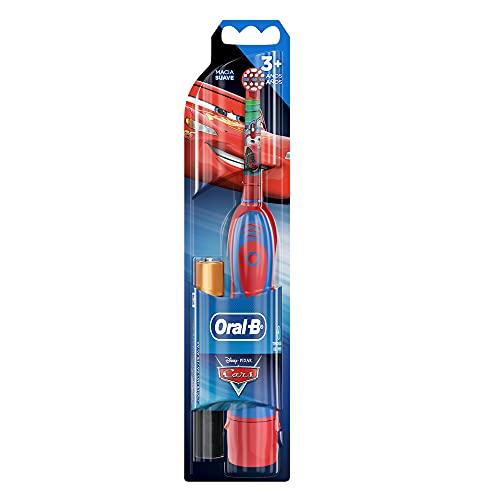 Escova Dental Disney Pixar Cars + 2 Pilhas Aa, Oral-B