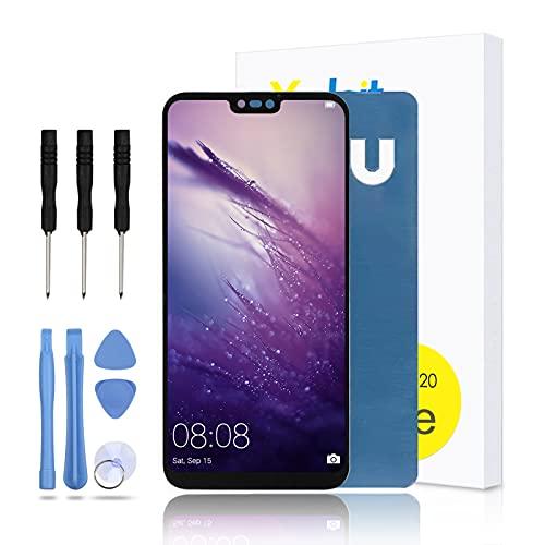 """Yodoit Display per Huawei P20 Lite (5,8"""") Schermo di Ricambio,LCD Vetro Touch Screen Digitizer Nero con Kit di Attrezzi"""