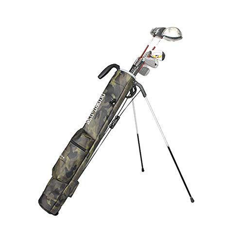 Helix Golftasche, leicht, einfach zu tragen, Golf, Sonntag, Reisetasche mit Schultern, Practice Ranger Sonntag Tasche für Damen und Herren, Camouflage