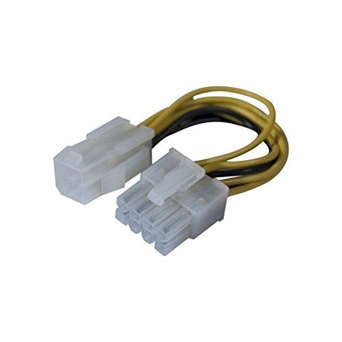 Dexlan Netz-Adapter, für Dual/bi-prozessor Motherboard, 8-polig