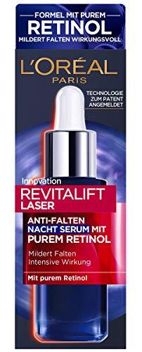 L'Oréal Paris Retinol Serum Anti-Wrinkle Night Serum with Vitamin A,...