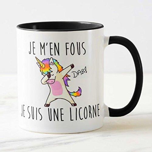 Le mug Je m'en Fous Je suis Une Licorne