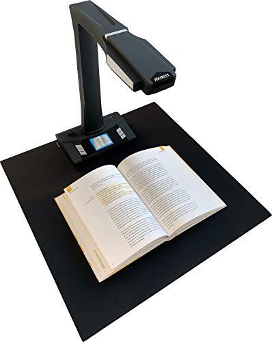 JOURIST BS16 Buchscanner, Dokumentenkamera und Visualizer für A3. Standalone- und PC-Betrieb. LCD-Display, Fernbedienung, Mausbedienung, Pedal- und Handauslöser, HDMI-, VGA- und USB-Anschluss.
