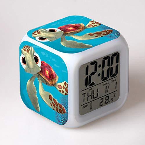ShiyueNB Finding Nemo Kids wekker digitale wekker licht wekker tafelklok LED