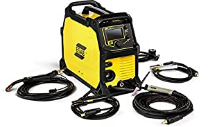 ESAB EMP215IC 120/230-Volt Dual Voltage Professional Grade MIG/TIG/Stick Welder by ESAB