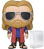 Pop Marvel: Los Vengadores Endgame – Casual Thor Pop! Figura de Vinilo (Incluye Funda Protectora Compatible con Pop Box)