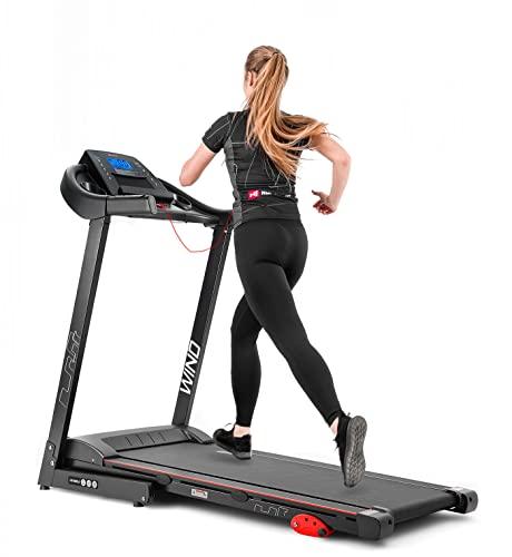 Hop-Sport Laufband HS-1000LB elektrisch 12 Programme 0.8 bis 14 km/h Motor: 2,0 PS Transportrollen bis 150 kg