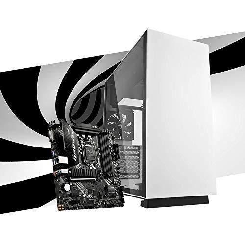 MAK STEEL - PC Gaming Desktop I5 10400F, GTX 1660 TI 6 GB, SSD Nvme 250 GB + HDD 2 TB, RAM 16 GB (2 x 8) 3200 MHz, ordenador de gaming, Windows 10 Pro