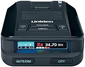 Uniden DFR8 Super Long Range Laser and Radar Detection, Advanced K/KA Band Filter, Voice Notifications, Ultra-bright Mult...