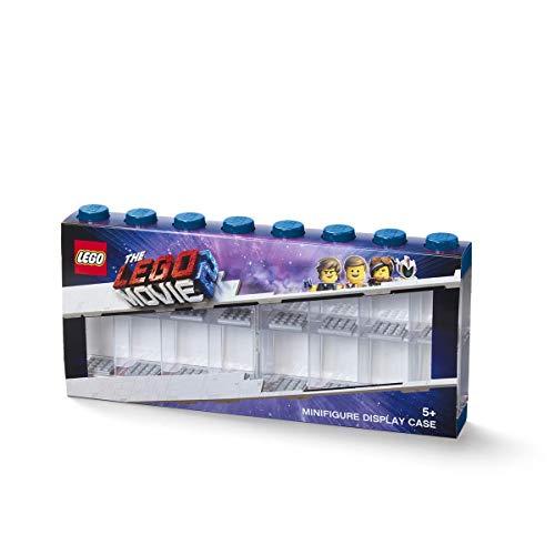 LEGO Minifiguur-showkast, blauw, One Size