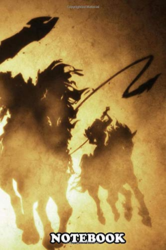 Notebook: Four Horsemen , Journal for Writing, College Ruled Size 6' x 9', 110 Pages