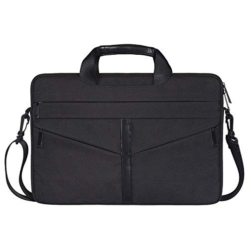 JUFENGYAO 13.3 15.6 Inch Shoulder Bag For E5450 Dell Xps Women Men Notebook Cover Case Sleeve For Hp Pavilion G6 Envy M6 Spectre X360 (Color : Black, Size : Hp pavillion x360 14)