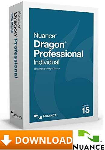 Nuance Dragon Professional Individual V15.0 - inkl. USB-Stick | Deutsch + Englisch - 2PC-Windows ★ Versand vorab via Amazon-Nachricht innerhalb von max. 24Stunden ★