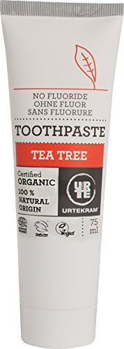 Urtekram Teebaum Zahnpasta Bio, ohne Flour (1 x 75 ml)