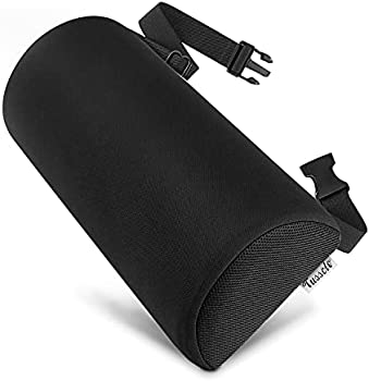 Tusscle D-Shaped Lumbar Roll Pillow for Lower Back Pain Relief