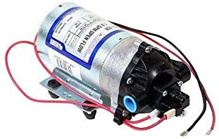 Pentair SHURflo 8000-543-236 Automatic-Demand Diaphragm Pump, 1.8 GPM With Viton Valves, Santoprene Diaphragm, 50 PSI Demand Switch, 12V, 3/8