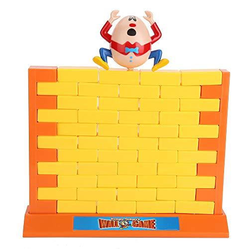 Simulazione Wall Demolish Toy Accumulare o Abbattere Genitori - Bambini Interactive Gioco Desktop 3D Block Stacking Game con Accessori Giocattoli Cognitivi Prima Educazione Regalo per 3 Anni Bambino