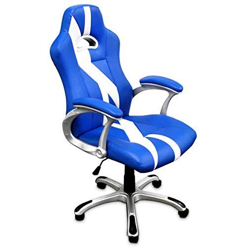 TRITON K51 Silla Gaming Chair ergonómica, Piel sintética,